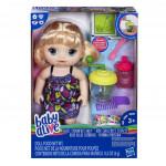 Baby Alive Blonďavá bábika s mixérom - VÝPREDAJ