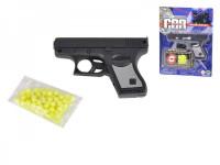 Pistole na kuličky 10cm + kuličky