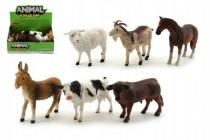 Zvieratká domáci farma plast 12cm - mix variantov či farieb