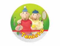 Placka PAM tenistov odznak 44mm