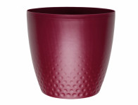 Plastia obal Perla - vínová 18 cm