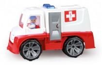 Auto Ambulancia Truxx s figúrkou plast 29cm 24m +