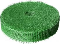 Jutová stuha 4 cm x 25 m - svetlo zelená