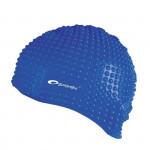 Spokey Belbin plavecká čepice bublinková modrá