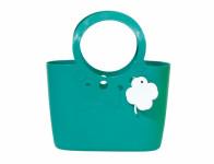 Taška LILY plastová modro zelená 4l