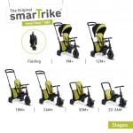 Trojkolka Smart Trike 7 v 1 Smartfold 500 zelená