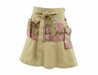 Zástěra GARDEN GIRL CHELSEA zavinovací sukně velikost UNI