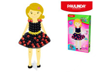 Mozaika vodní perly 3D 10x8mm 95ks holčička s doplňky v krabičce Paulinda