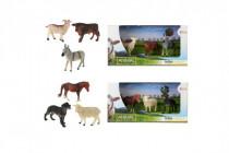 Zvířátka domácí farma 3ks - mix variant či barev