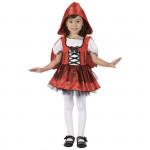 Kostým dievča v červenom, 92-104 cm