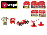 Bburago Ferrari Kids s doplňky - mix variant či barev