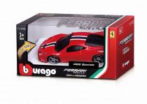 Bburago 1:43 Ferrari Race & Play na batérie so svetlom a zvukom - mix variantov či farieb