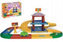Garáž Kid cars 3D 2 poschodia 3,4 m 90x57cm Wader