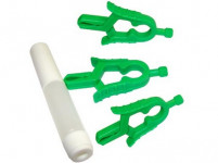 pinzeta na kliešť (3ks) + pipetkou na dezinfekčný roztok plastová