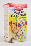 Sanal pes YEAST CALCIUM kalciové tablety 400tbl / 4x100g