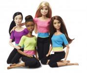 Barbie v pohybu