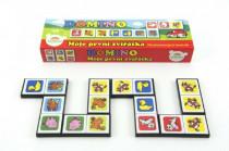 Domino Moje první zvířátka 28ks společenská hra