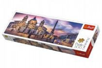 Puzzle Piazza Navona, Rím panorama 500 dielikov 66x23,7cm
