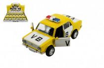 Auto polícia VB Lada 1200 VAZ kov 12cm na batérie so zvukom a svetlom na spätný chod