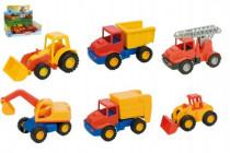 Auto mini Compact stavební plast 12cm - mix variant či barev