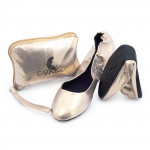 CatMotion skladacie balerínky do kabelky SPARKLE