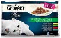 Gourmet Perle cat kaps.- Multipack filety sa ziel. 4 x 85 g (3 + 1ZADARMO)