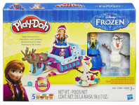 Play-Doh Frozen dobrodružství na saních - mix variant či barev