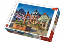 Puzzle Trhovisko Heppenheim 3000 dielikov 116x85cm