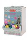 Hračka mačka Display zvoniaci loptičky 204ks Zolux