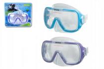 Potápěčské brýle na kartě