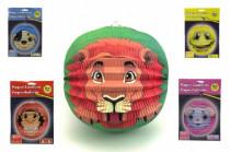 Lampion zvířátko 25cm karneval - mix variant či barev