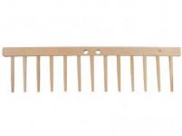 hrebeň drevený 13 kolíkov drevených, d.49cm