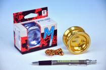 Jojo T8 - Magic shadow Magicyoyo 5,5x4cm hliník/kov s ložiskem - mix barev