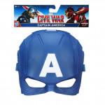 Captain America hrdinská maska - mix variant či barev