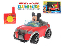Mickey Mouse R/C cabriolet 16 cm 2,4 GHz na baterie