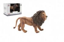Zvieratká safari ZOO 13cm lev plast
