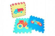 Pěnové puzzle Dopravní prostředky 30x30cm