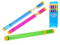 Vodná pumpa 48 cm na batérie so svetlom - mix farieb