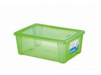 box úložný SCATOLA 10l, 36,5x25,5x14cm s vekom plastový, ZE