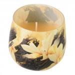 sviečka vonná sklo VANILKA 100g (horí 20hod)