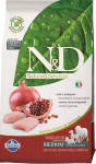 N&D Grain Free Dog Adult Chicken & Pomegranate 2,5 kg