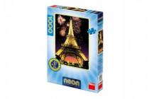 Puzzle Eiffelova věž svítící ve tmě 47x66cm 1000 dílků