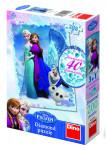 Puzzle Ľadové kráľovstvo / Frozen 33x47cm 200 dielikov diamanty + lepidlo