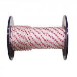 lano PPV bez duše 8mm farebné pletené (100m)