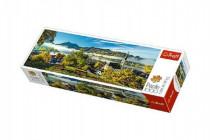 Puzzle jazero Schliersee panoramic 1000 dielikov 97x34cm
