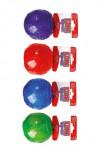 Hračka pes KONG Lopta pískacie M 7cm mix farieb