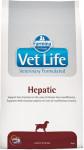 Vet Life Natural Canine Dry Hepatic 12 kg