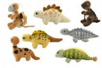Dinosaurus plyš 15cm 0m+ - mix variant či barev - VÝPREDAJ