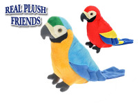 Papoušek plyšový 22 cm - mix barev
