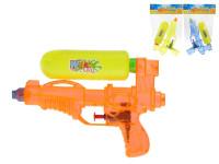 Vodní pistole plast 19cm - mix barev